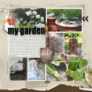 garden scrapbook